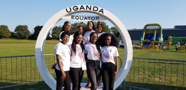 Miss Uganda UK UG IN THE PARK
