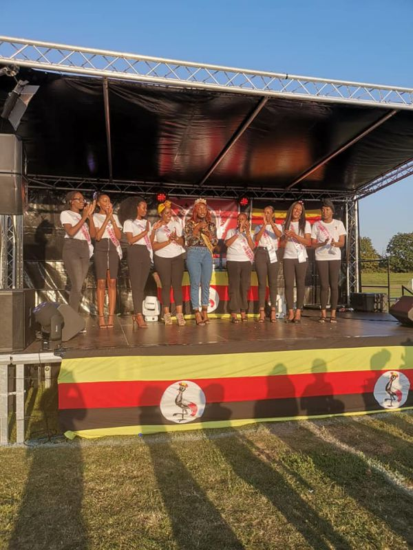UG IN THE PARK Miss Uganda UK