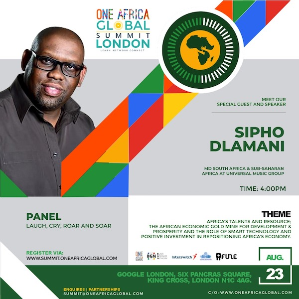 One Africa Global Summit London 3
