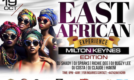 Party Alert! East African Experience Milton Keynes