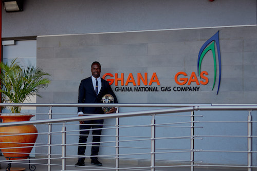 Ghana's first skeleton Winter Olympian, Akwasi Frimpong, has secured a sponsorship with the Ghana National Gas Company