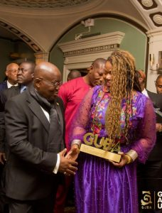Mary Spio and Nana Akufo-Addo At GUBA USA