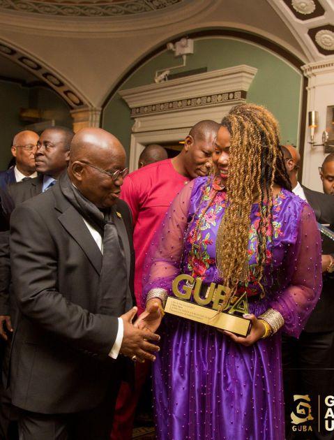 Mary Spio and Nana Akufo-Addo At GUBA USA