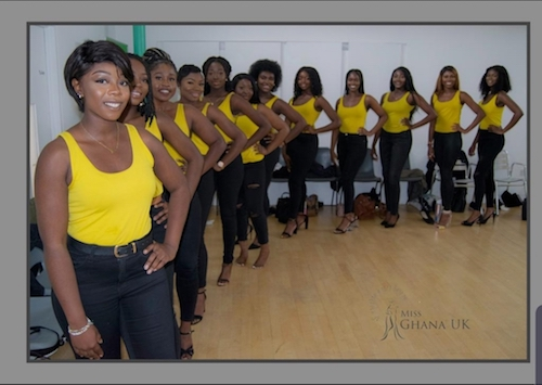 Miss Ghana UK 2019  Grand Final – Saturday 28th September 2019