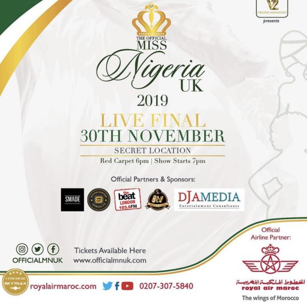 Miss Nigeria UK 2019