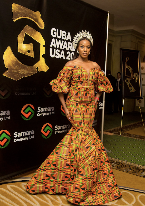 Miss United States Andromeda Peters - GUBA USA
