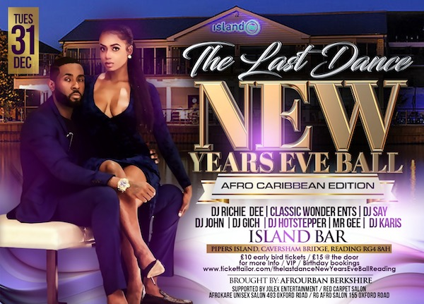 New Year's Eve Ball In Reading Berkshire