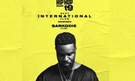 Sarkodie Makes The 2019 BET Awards List