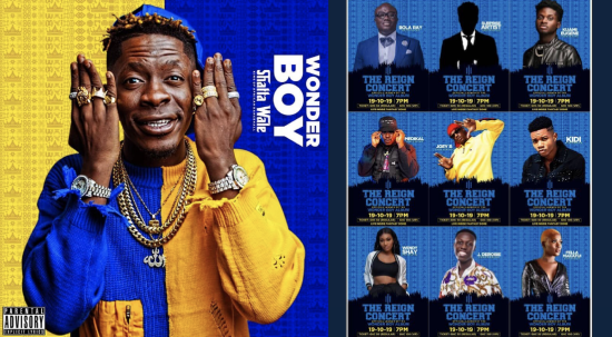 Shatta Wale The Reign Concert – Wonder Boy Album