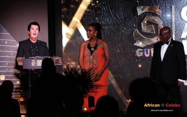 Simon Fuller Wins Public Service Award At GUBA USA
