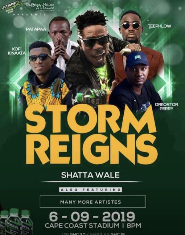 Storm Reign Concert At Cape Coast