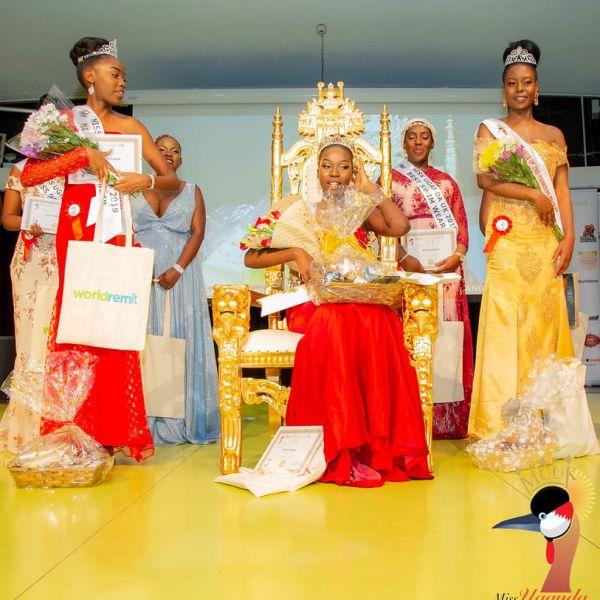 Caitlin Ochana Miss Uganda 2019
