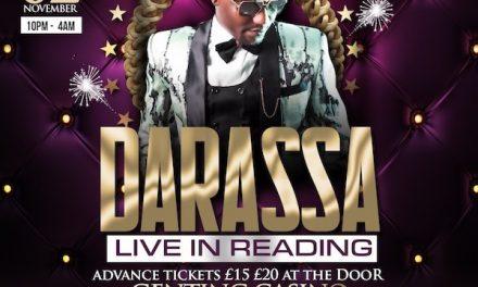 DarassaLive In Reading Berkshire – 2nd November