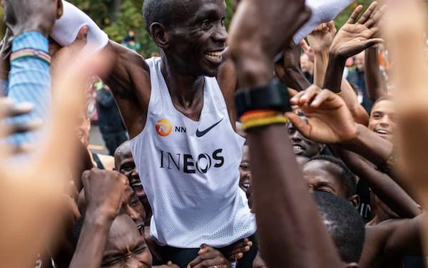 Eliud Kipchoge's Historic Marathon Win …