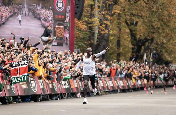 Eliud Kipchoge's Historic Marathon Win