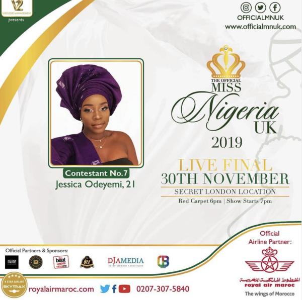 Miss Nigeria UK - Jessica Odeyemi