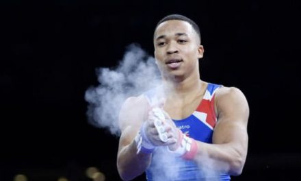 Joe Fraser Becomes Britain's First Parallel Bars Gold Winner