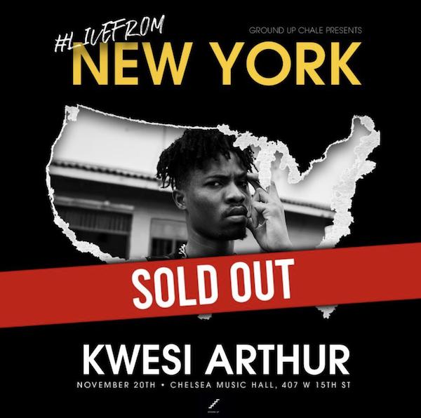 Kwesi Arthur New York show