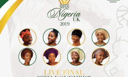 Miss Nigeria UK 2019 Finalists