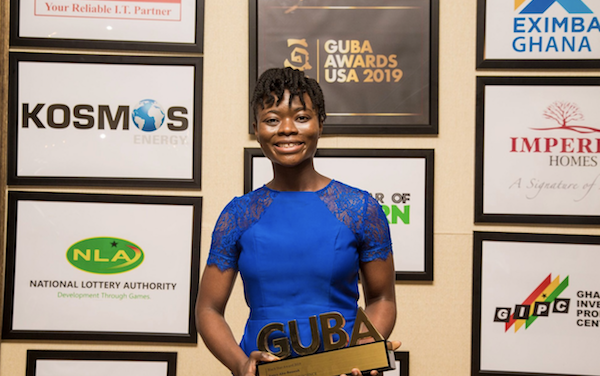 Nancy Abu-Bonsrah Wins Young Woman In Science Award At GUBA USA