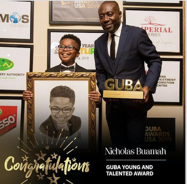 Nicholas Buamah Wins Young And Talented Award At GUBA USA