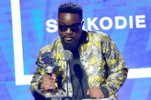 Sarkodie Wins BET's Best International Flow Act