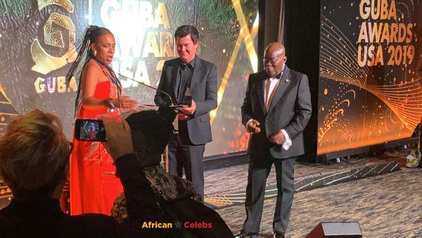 Simon Fuller Wins Public Service Award At GUBA USA