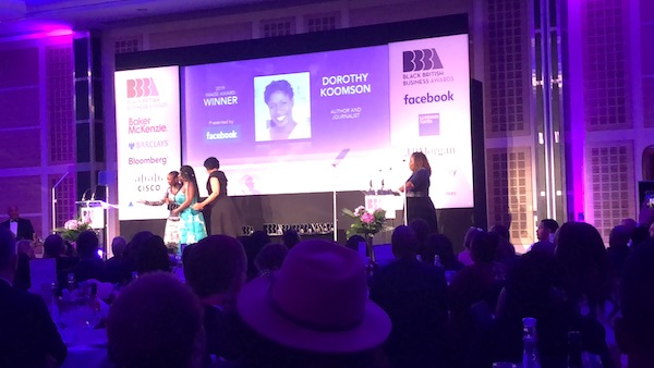 Black British Business Awards Winners…