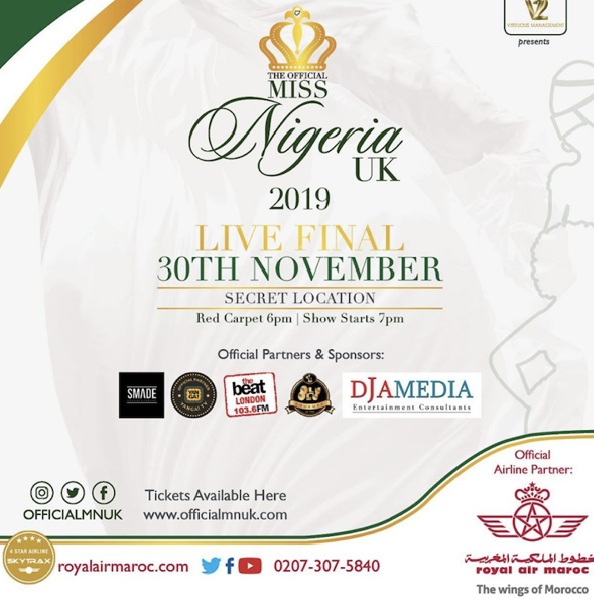 Miss Nigeria UK 2019