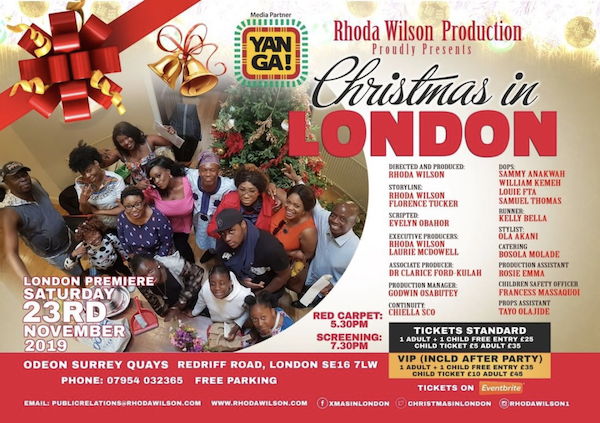 Christmas In London movie