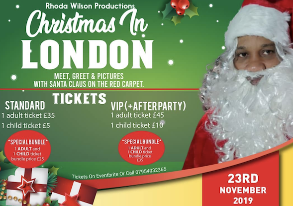 Christmas In London Movie Premiere