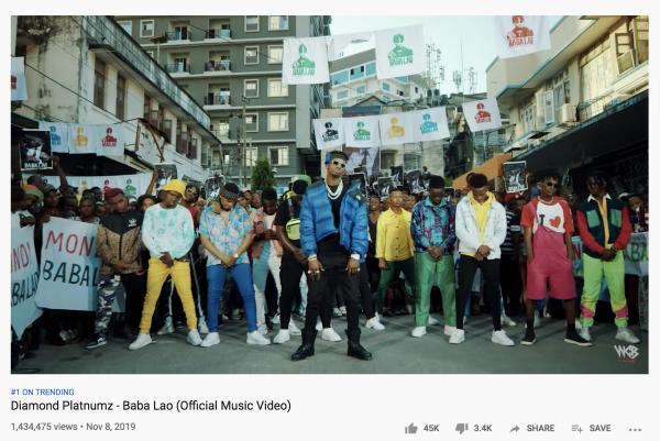 Diamond Platnumz – Baba Lao Trending #1