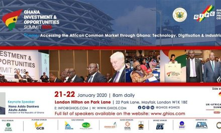 Ghana Investment and Opportunities Summit  London 2020