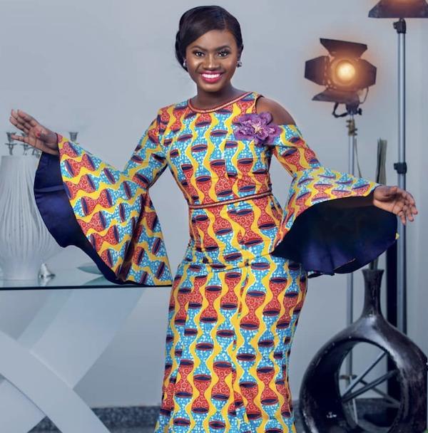 Martha Ankomah wearing GTP Fashion