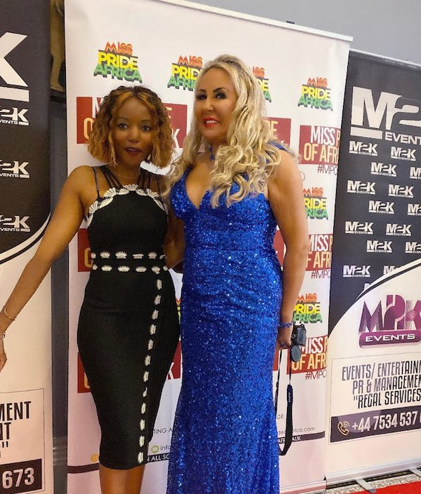 Deborah Jay Kelly and Sporah at Miss Pride Of Africa UK