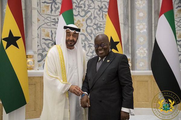 Nana Akufo-Addo In Abu Dhabi
