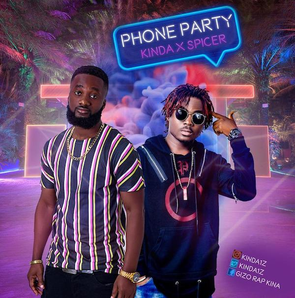 Kinda – Phone Party ft. Spicer (Prod. by Dr Spooky)