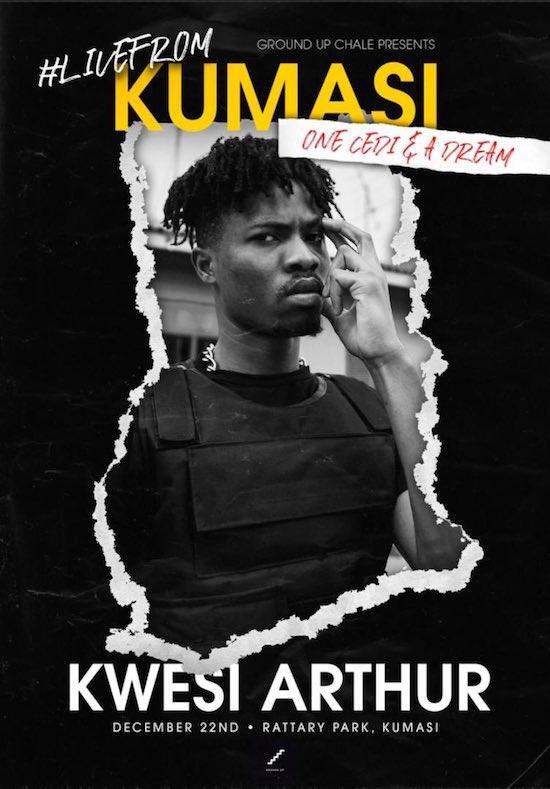 Kwesi Arthur – One Cedi And A Dream Concert