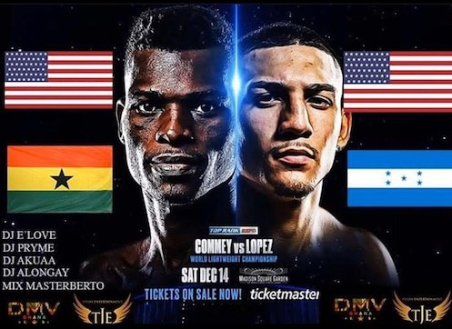 Richard Commey vs Teofimo Lopez At Madison Square Garden