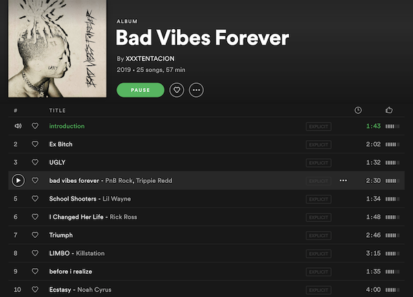 XXXTentacion's Final Album 'Bad Vibes Forever