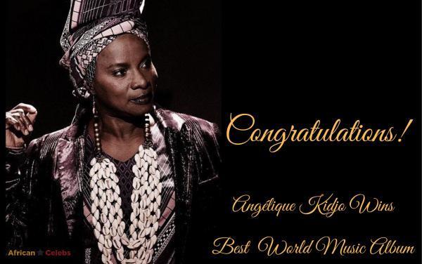 Angélique Kidjo Wins Best World Music Album At The 2020 Grammy Awards