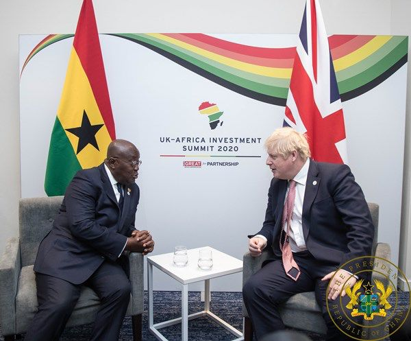 President Akufo-Addo  At The UK Africa Investment Summit 2020