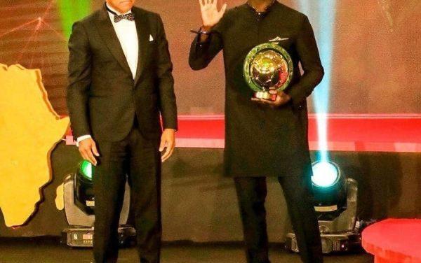 SADIO MANE CROWNED AFRICA'S BEST FOOTBALLER