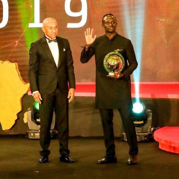 SADIO MANE CROWNED AFRICA'S BEST FOOTBALLER