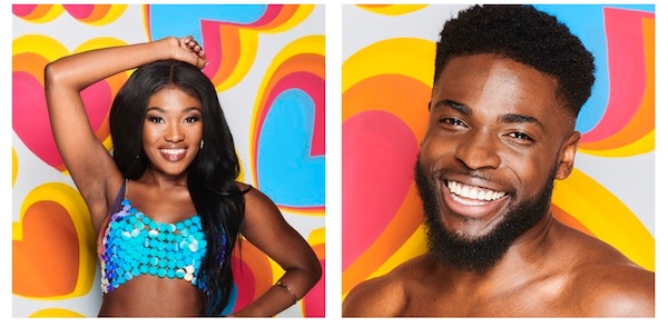 LEANNE AMANING AND MICHAEL BOATENG – LOVE ISLAND  2020