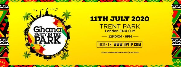 Ghana Party In The Park 2020: 11 July 2020 At Trent Park, Enfield