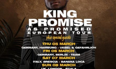 King Promise 2020 'As Promised European Tour'