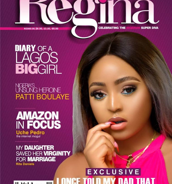 Regina Daniels Launches Her First Edition Of 'Regina Magazine'