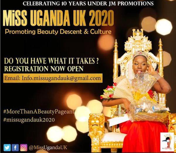 Miss Uganda UK 2020