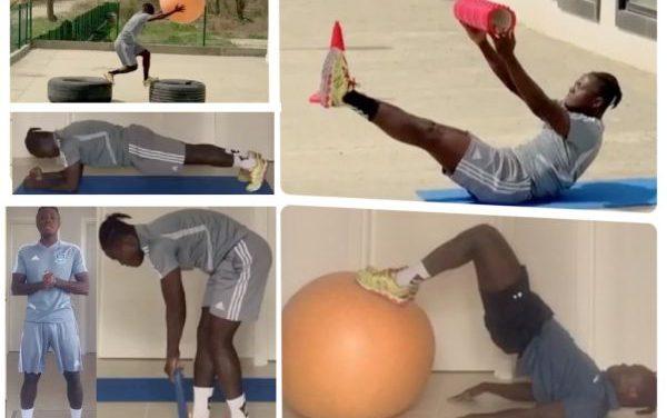 Indoor Workout With Samuel Inkoom